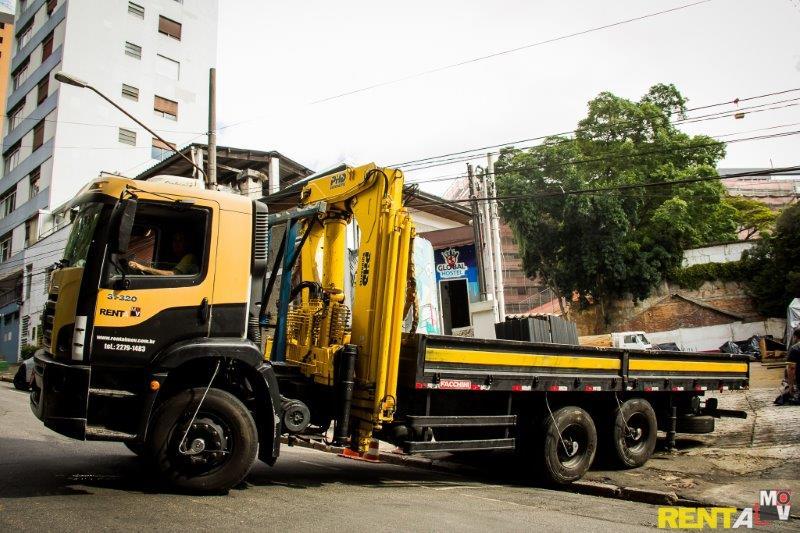 Aluguel de caminhão munck em Osasco
