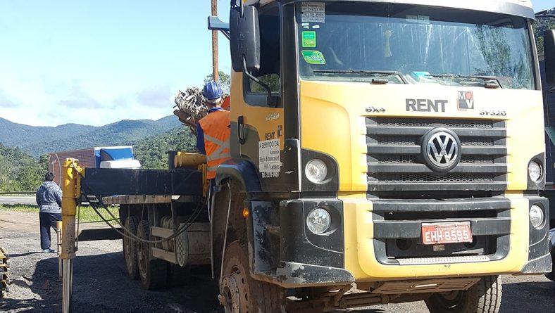 Caminhão Munck Locação Estrada do Cafezal SP
