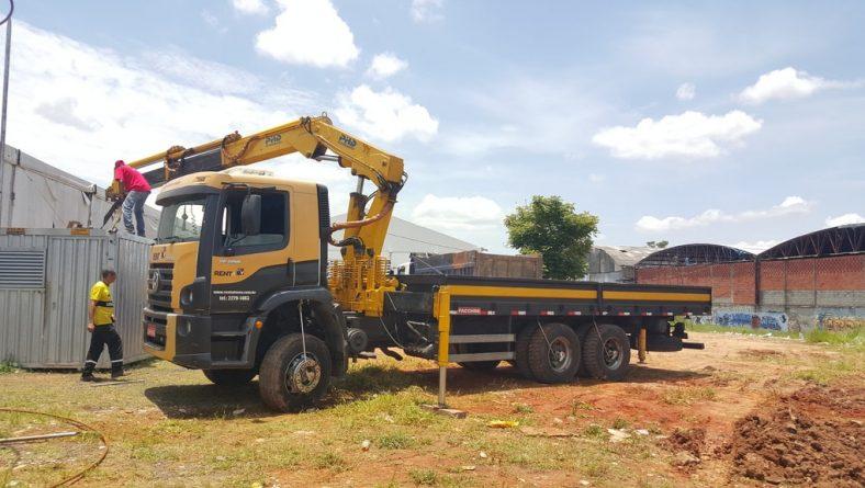 Locação de Caminhão Munck em São Paulo