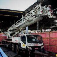 Aluguel de guindaste 70 toneladas
